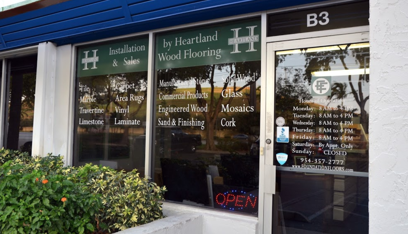 Heartland Flooring Solutions - 4100 N Powerline Rd, Pompano Beach, FL 33064
