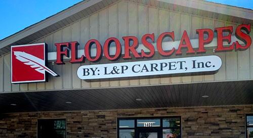L & P Carpet Inc - 1409 N Carbon St Marion, IL 62959