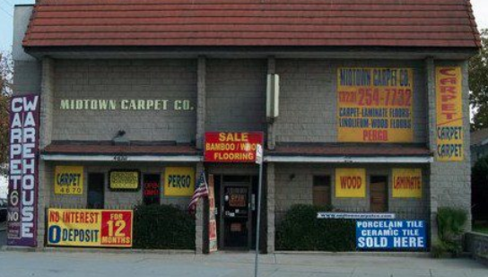 Midtown Carpet Company - 4670 Eagle Rock Blvd, Los Angeles, CA 90041