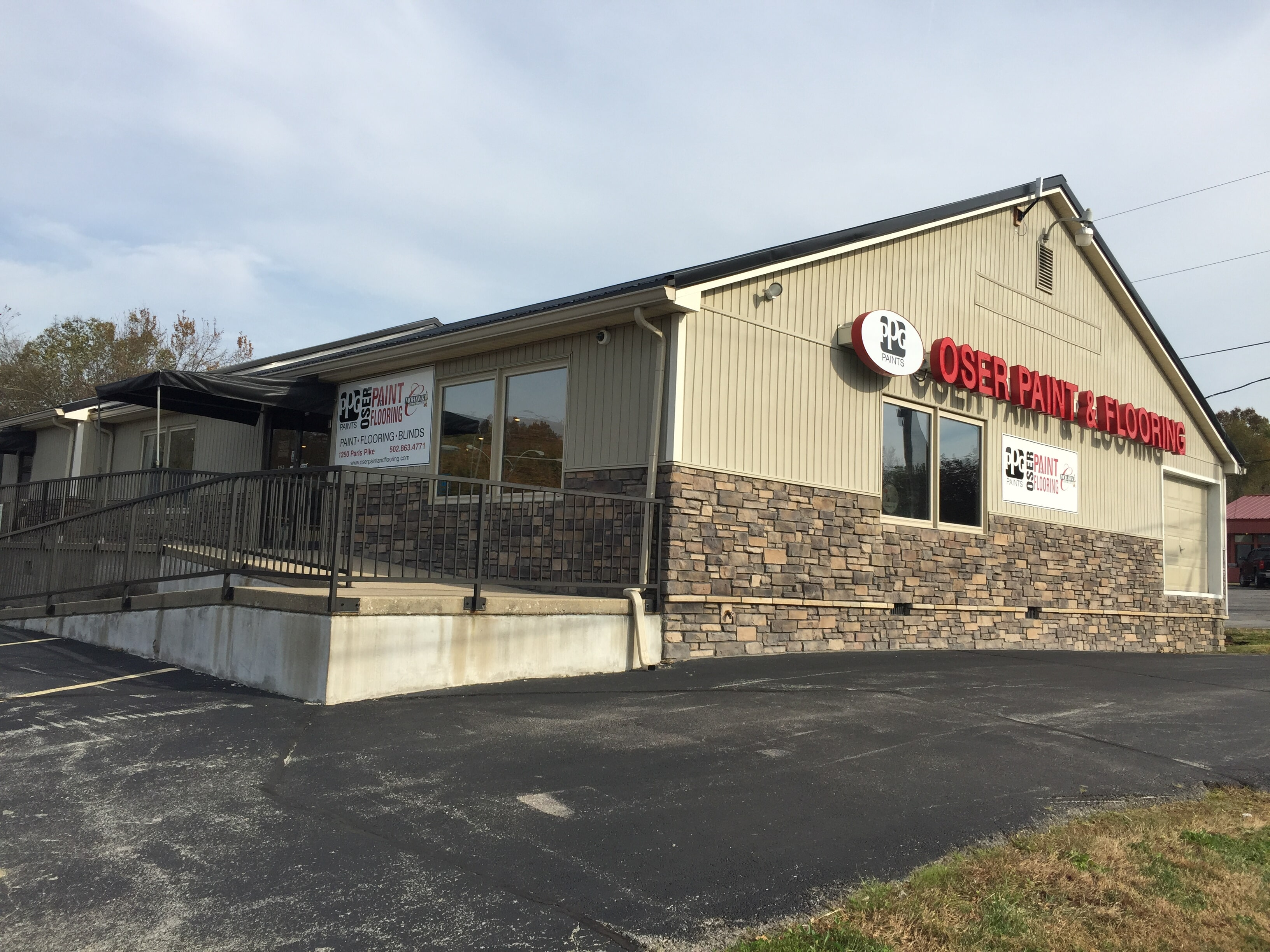 Oser Paint & Flooring - 1250 Paris Pike Georgetown, KY 40324