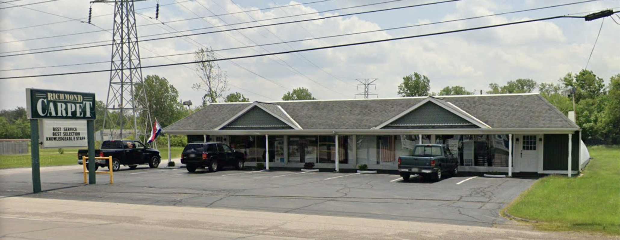 Richmond Carpet Outlet - 3911 National Rd W, Richmond, IN 47374