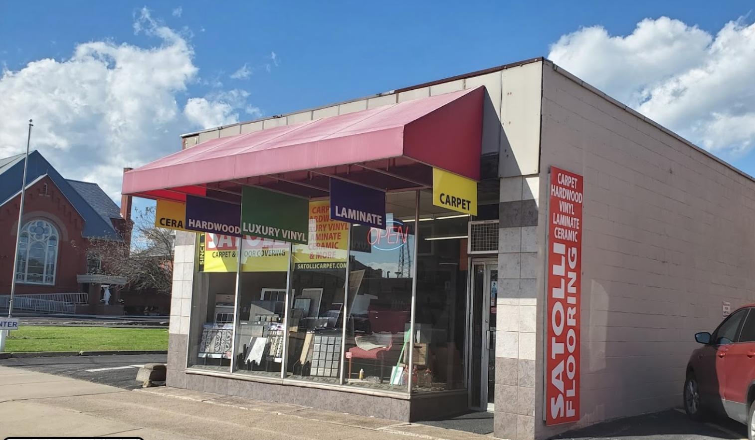 Satolli Carpet & Floor Covering - 361 High St NE, Warren, OH 44481