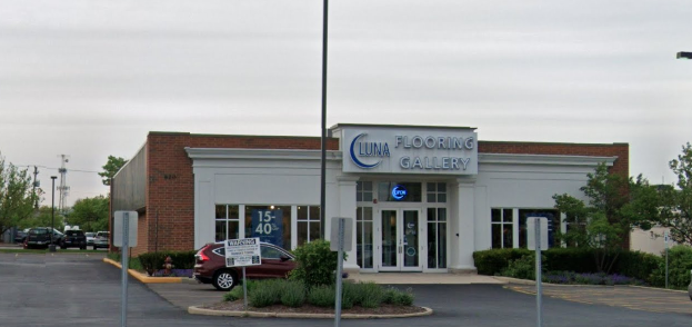 Luna Flooring Galleries - 820 E Golf Rd, Schaumburg, IL 60173
