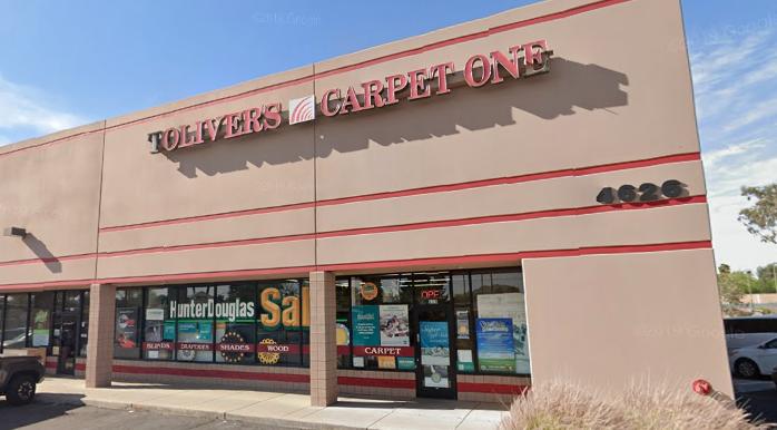 Toliver's Carpet One - 4626 E Thunderbird Rd Phoenix, AZ 85032
