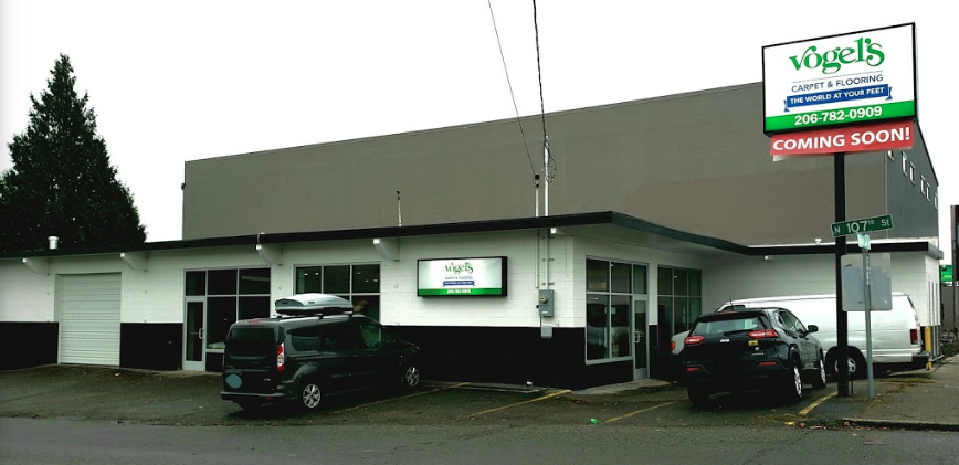 Vogel's Carpet & Flooring - 10560 Aurora Ave N, Seattle, WA 98133