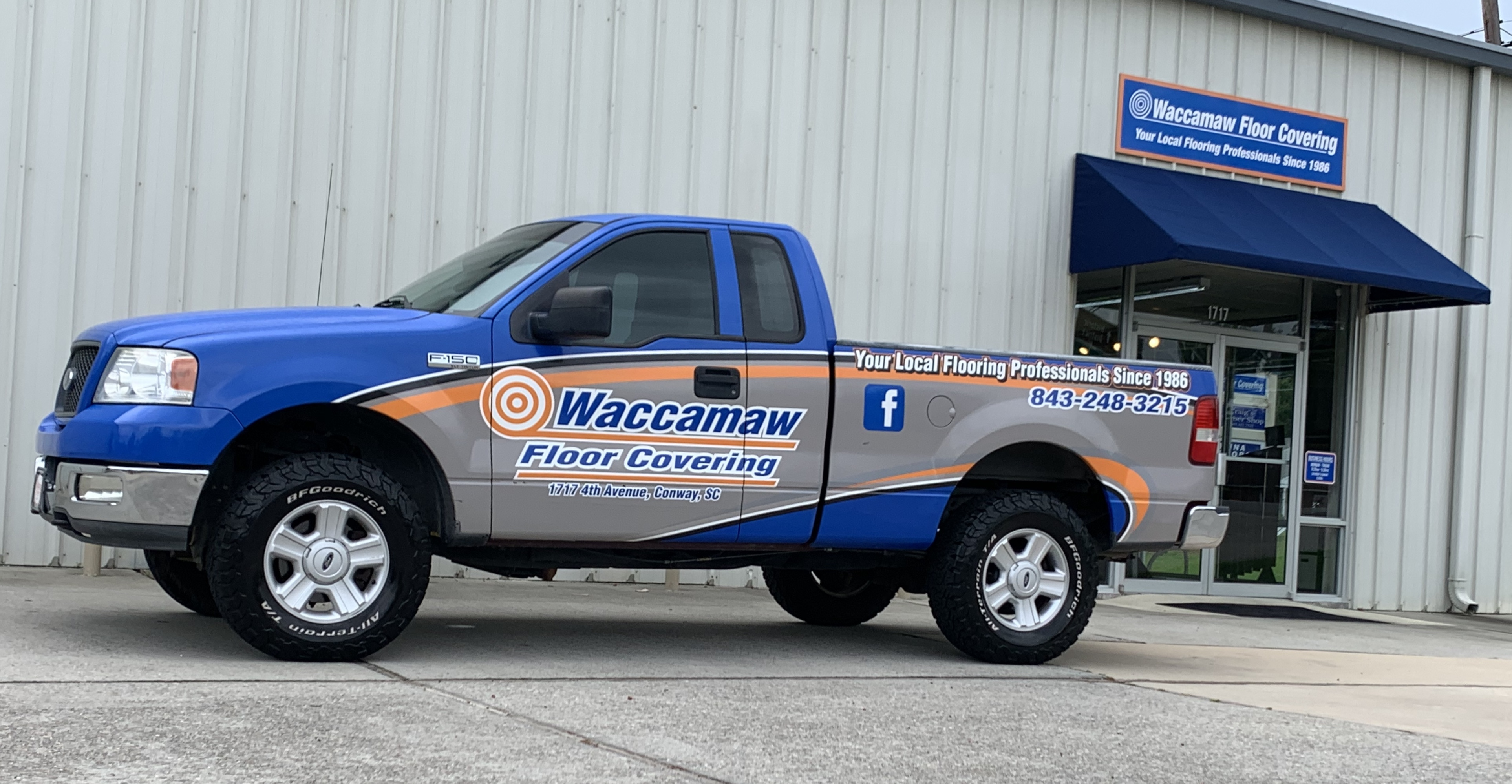 Waccamaw Floor Covering - 1717 4th Ave, Conway, SC 29527