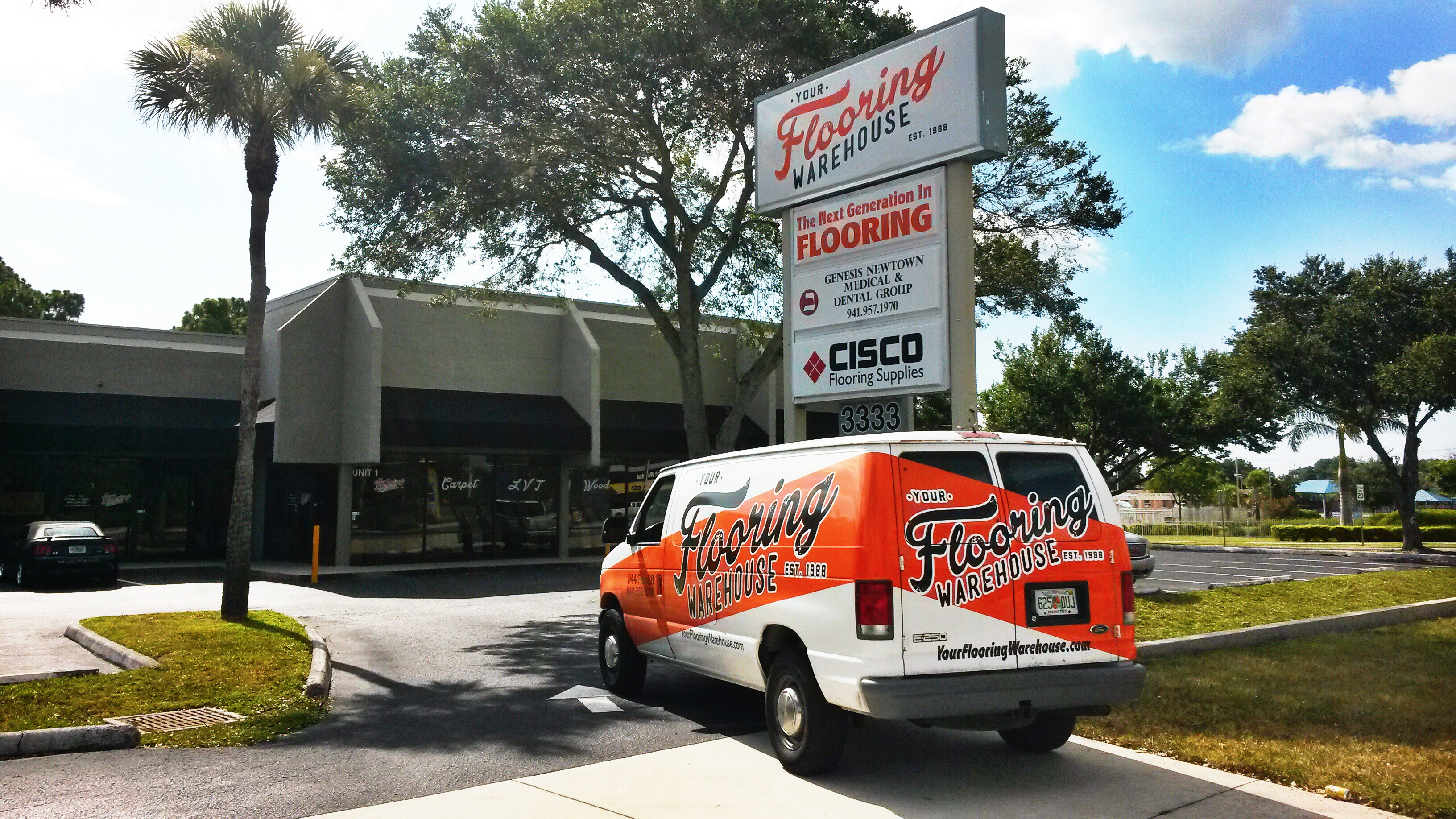 Your Flooring Warehouse, LLC - 3333 N Washington Blvd, Sarasota, FL 34234