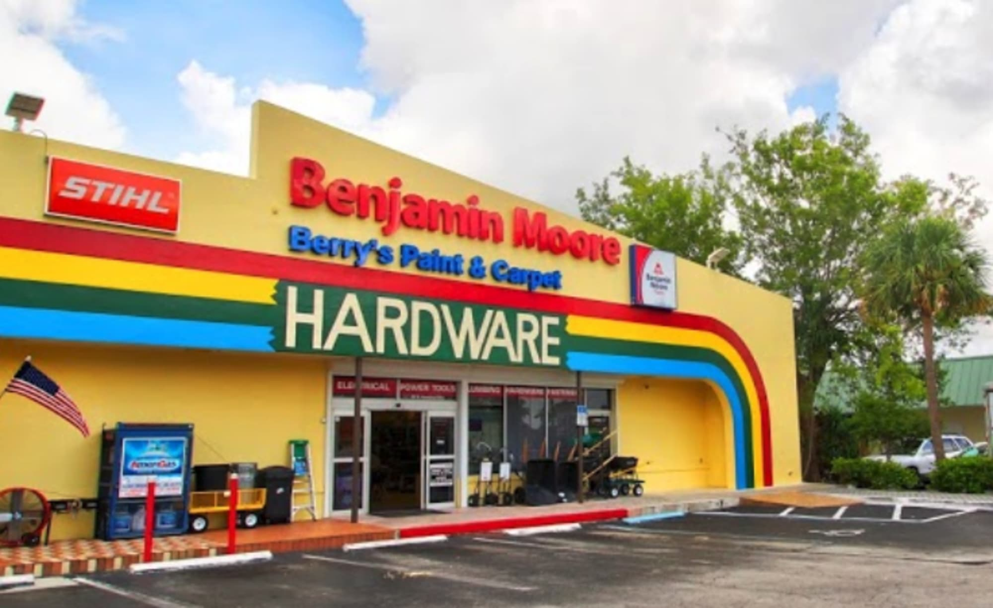 Berry's Paint, Hardware & Flooring - 896 N Homestead Blvd Homestead, FL 33030
