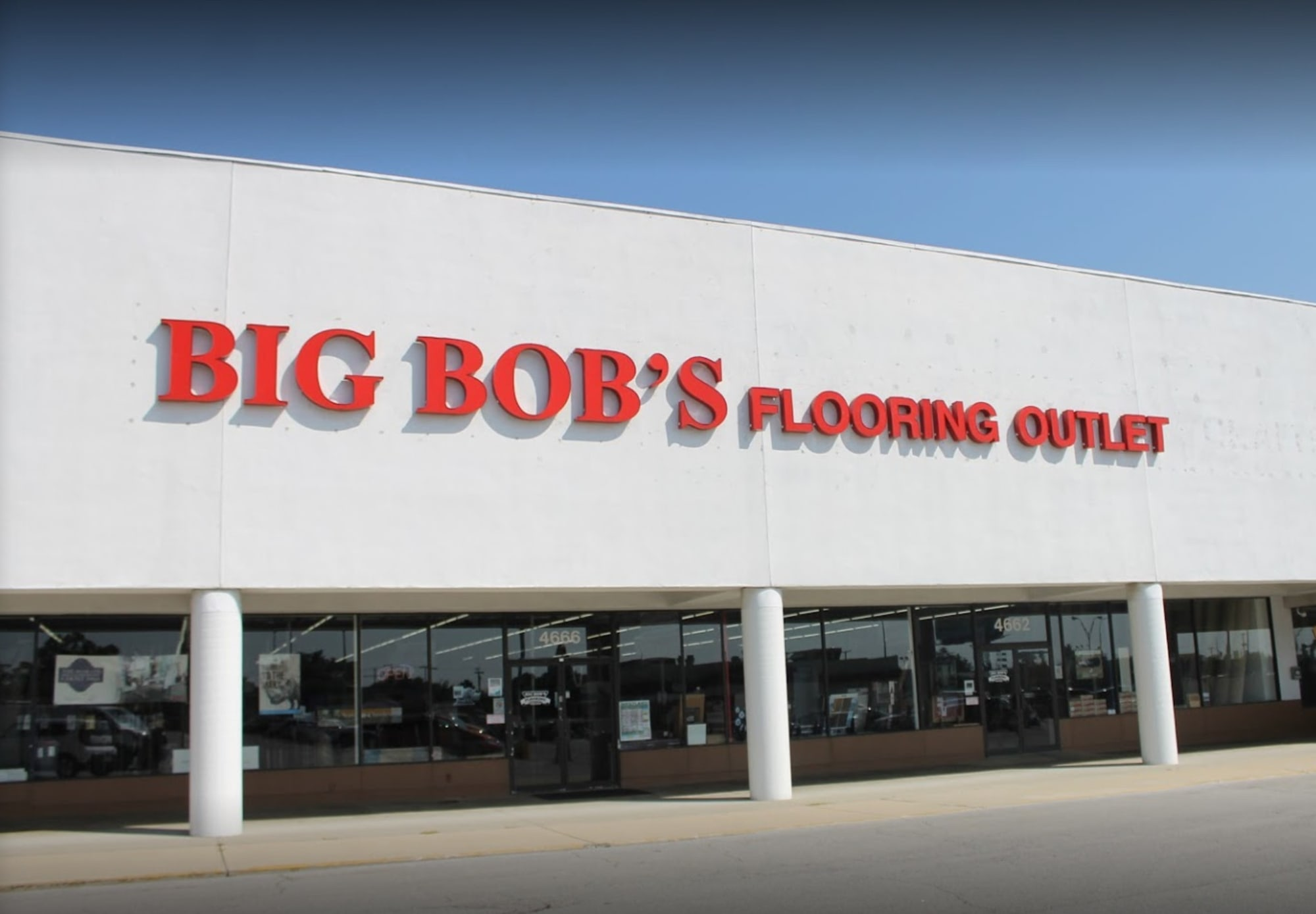 Big Bob's Flooring Outlet - 4666 W Broad St Columbus, OH 43228