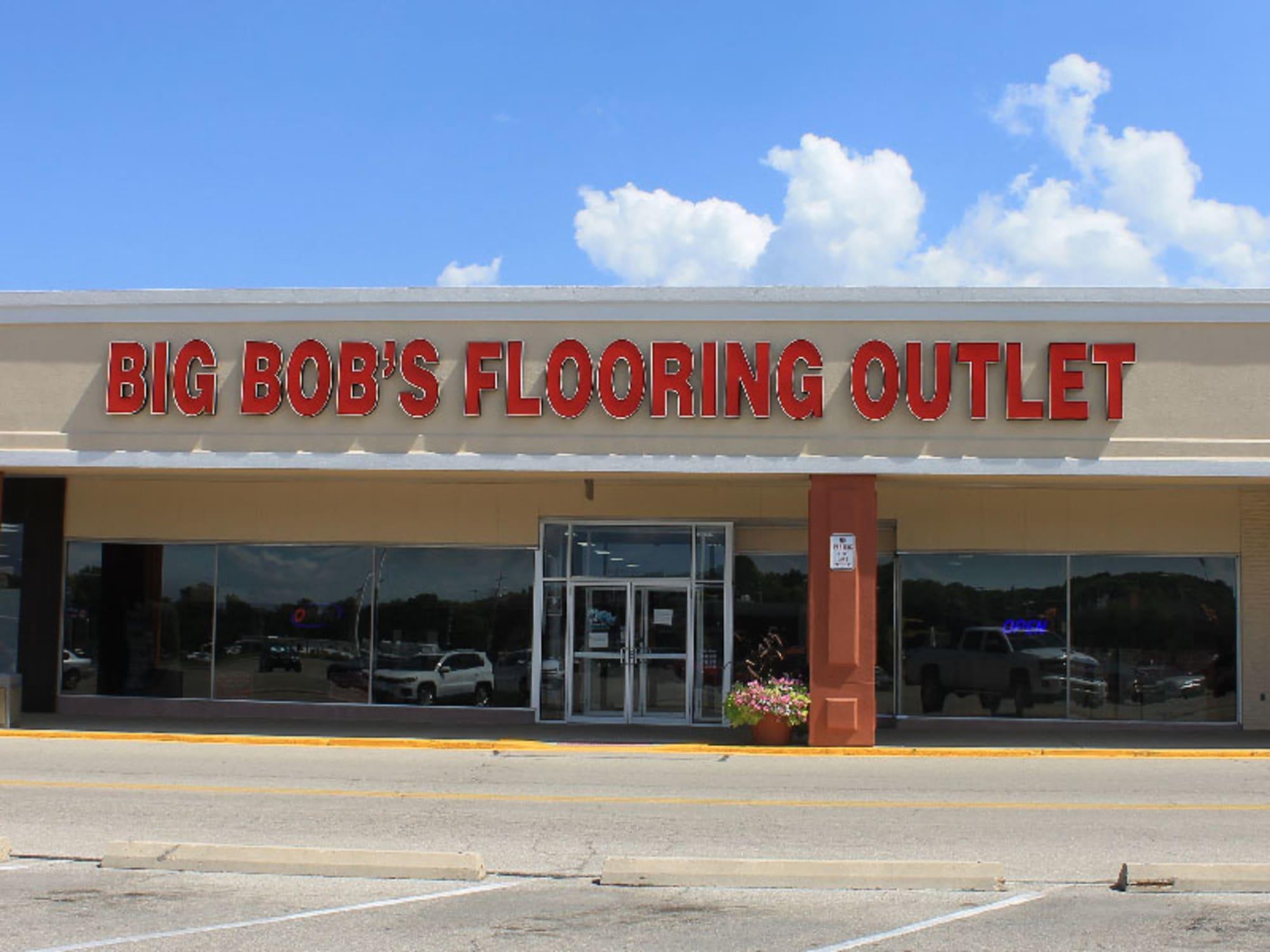 Big Bob's Flooring Outlet - 130 Woodman Dr Dayton, OH 45431