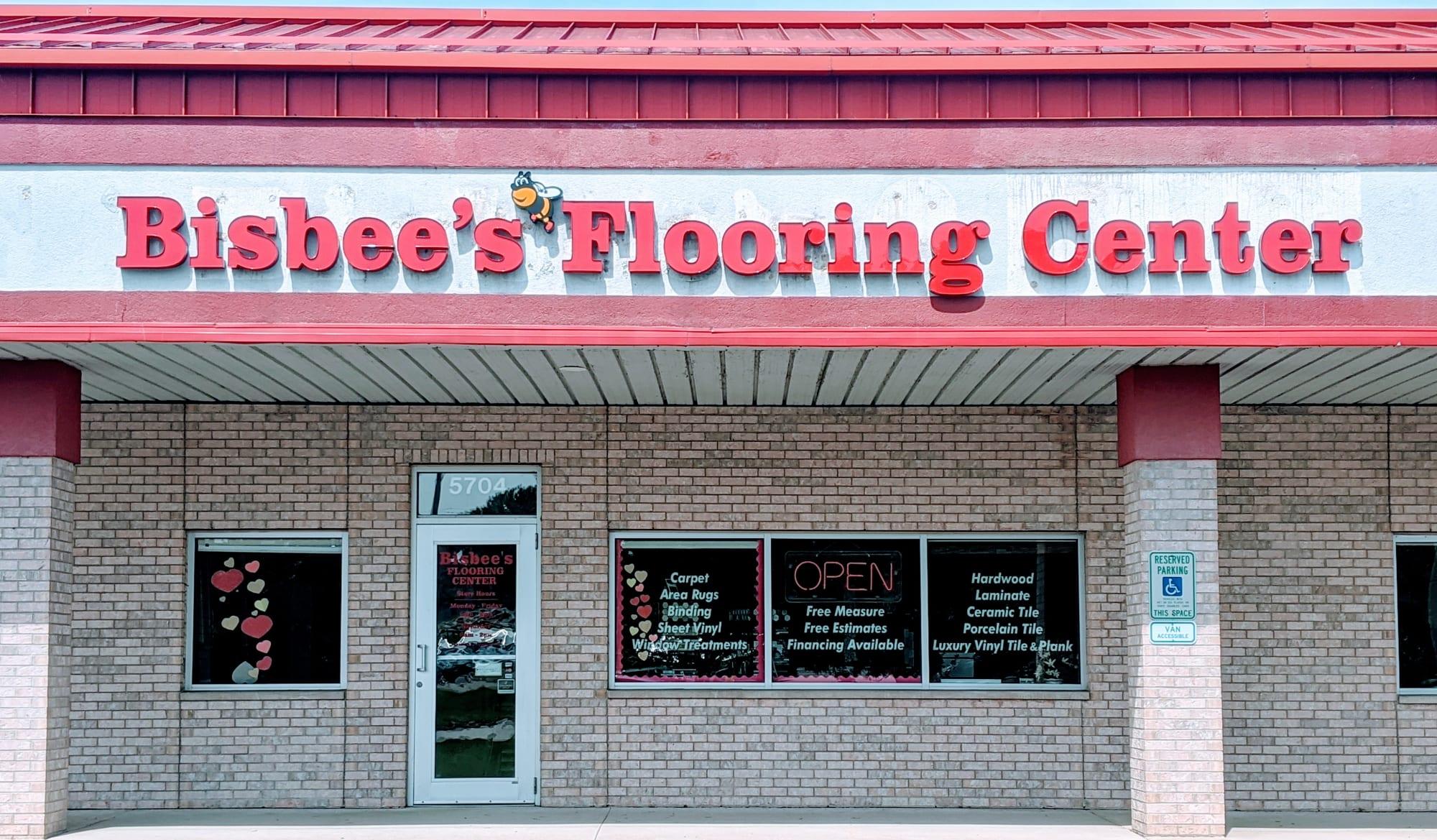 Bisbee's Flooring Center - 5704 US-51 McFarland, WI 53558