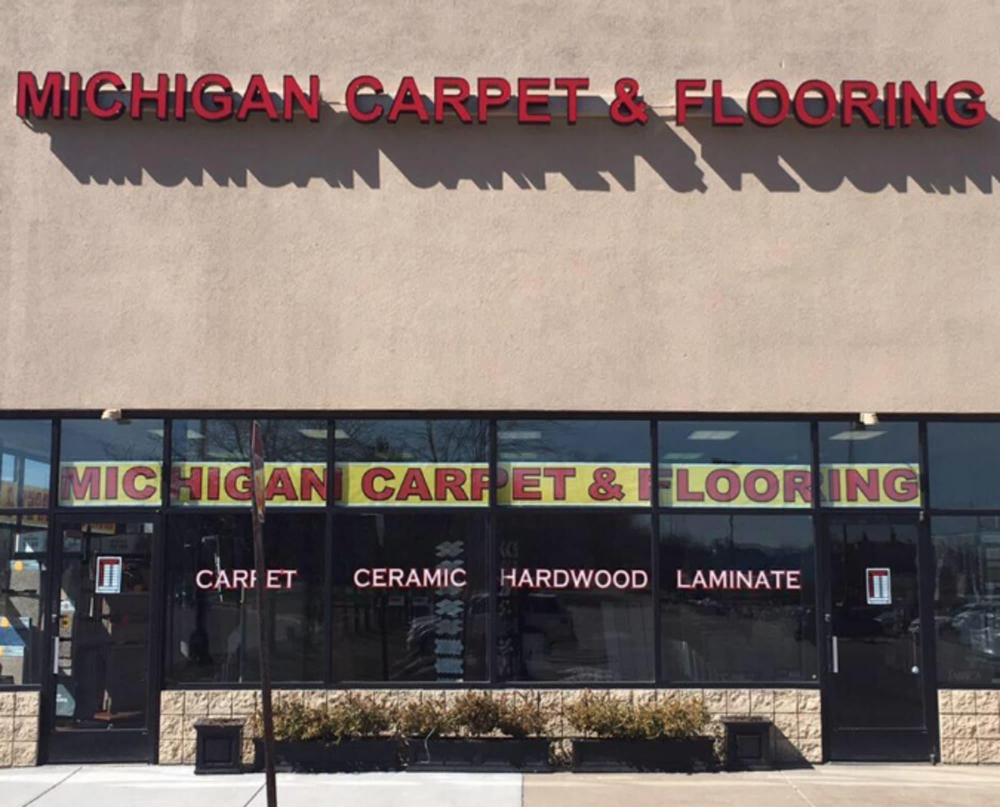 Michigan Carpet and Flooring - 465 Haggerty Rd Commerce Charter Township, MI 48390