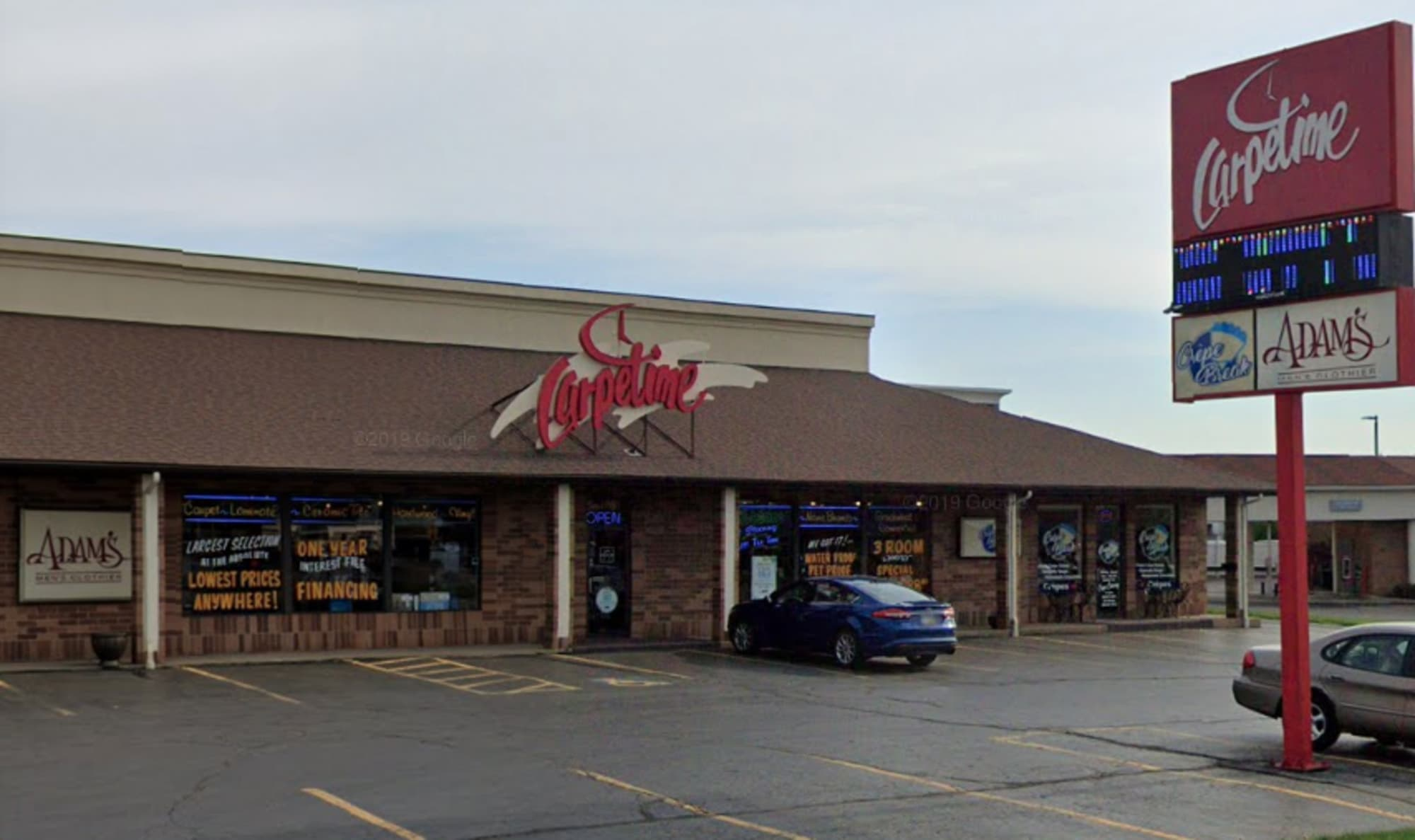 Carpetime Inc - 4595 Belden Village St NW Canton, OH 44718