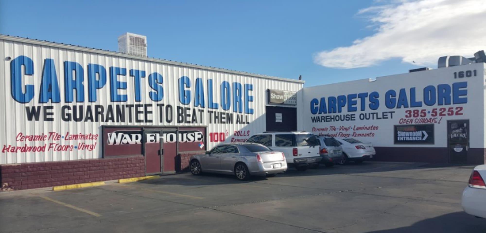 Carpets Galore - 1601 S Main St Las Vegas, NV 89104