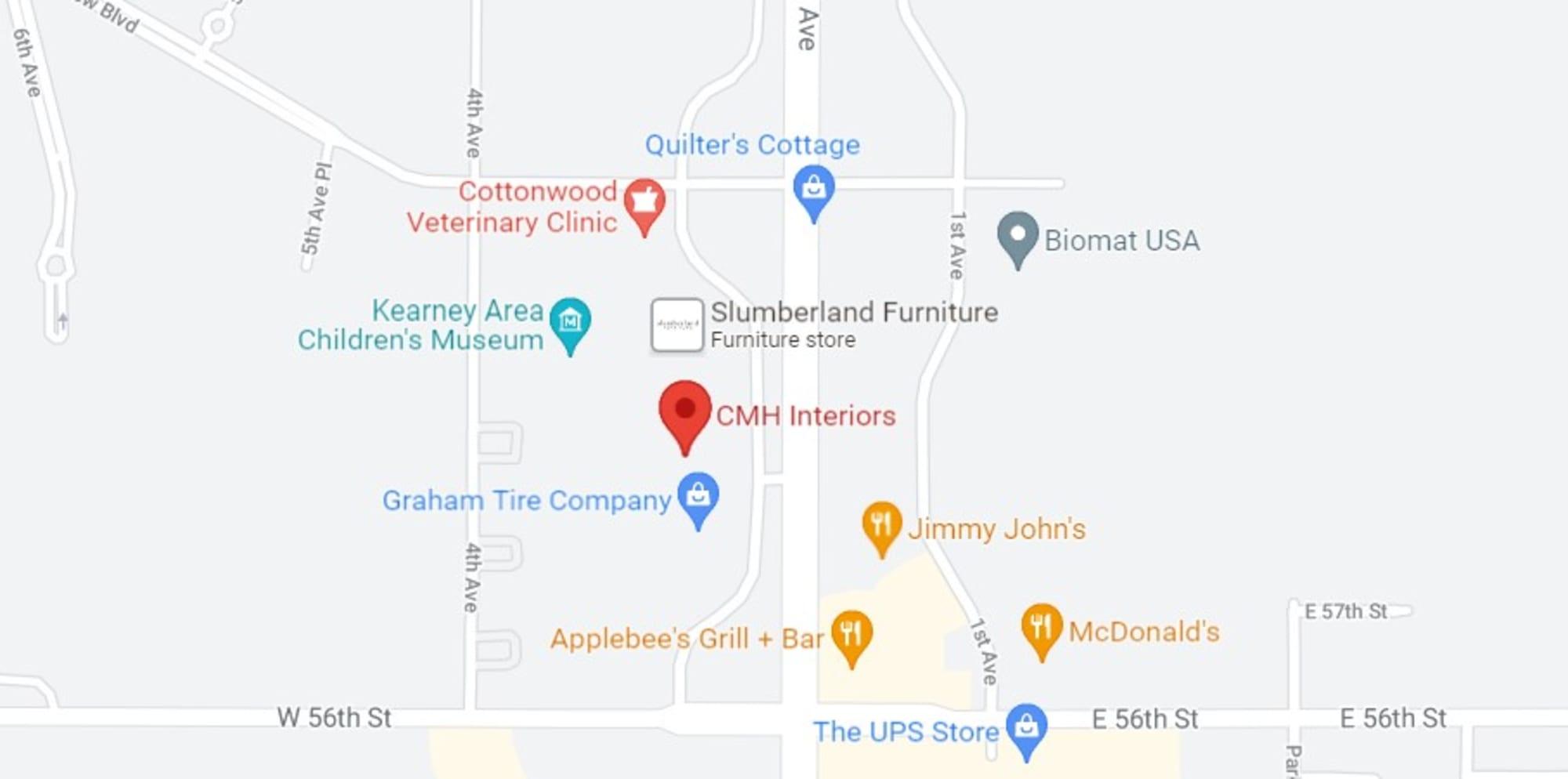 CMH Interiors - 5804 2nd Ave Kearney, NE 68845