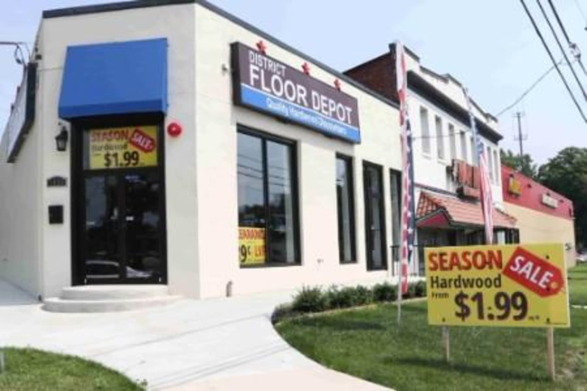 District Floor Depot - 1600 Rhode Island Ave NE Washington, DC 20018