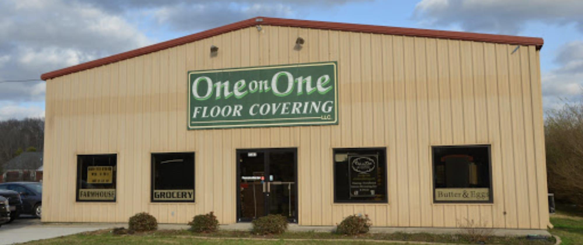 One On One Floor Covering Llc - 14595 US-231 Hazel Green, AL 35750