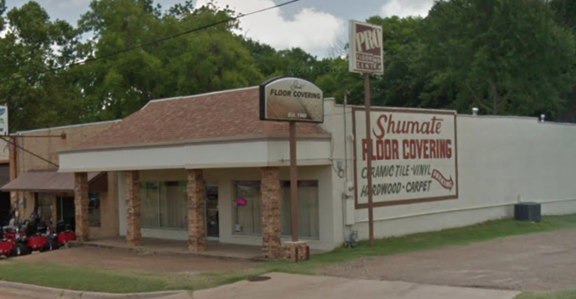 Shumate Floor Covering - 1216 N Jefferson Ave Mount Pleasant, TX 75455