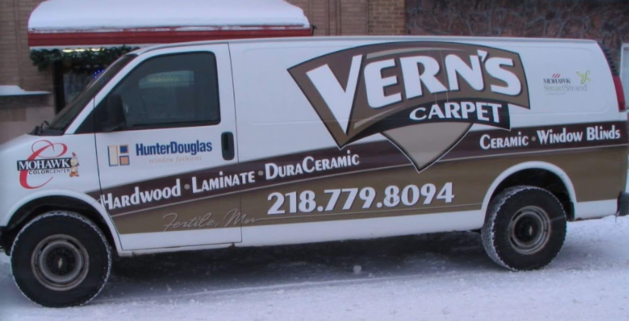Verns Carpet - 202 N Mill St Fertile, MN 56540