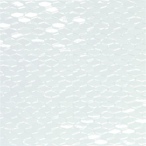"""swatch for product variant White Mini Hexagon 12""""x35"""""""