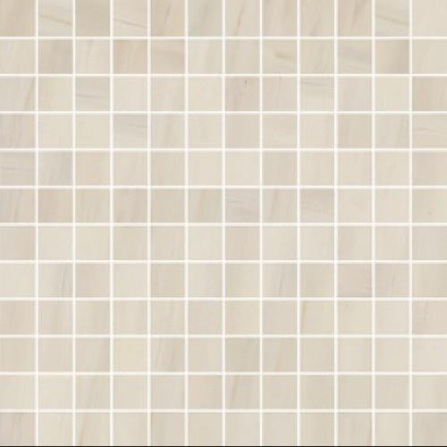 Dolomite in Beige Mosaic - Tile by Happy Floors