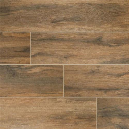 Botanica Wood Plank Porcelain Tile in Cashew - Tile by MSI Stone