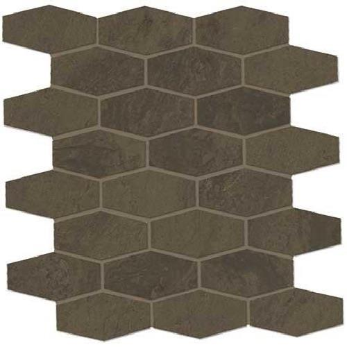 Classentino Marble in Imperial Brown Matte  Hex Mosaic - Tile by Marazzi