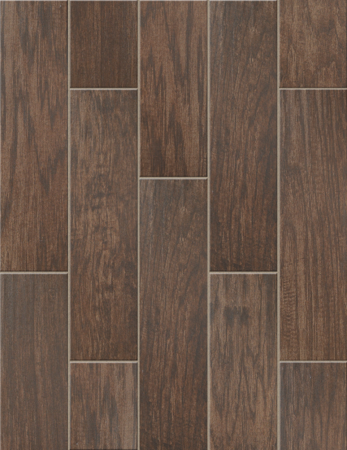 Petrified Hickory 6x24 in Timeworn - Tile by Shaw Flooring