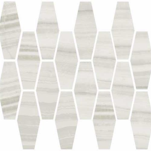 swatch for product variant Milk Natural  Elongated Hexagon