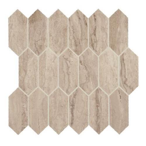 Marble Attache in Travertine   Hexagon - Tile by Daltile