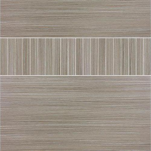 Venetian Architectural   Grasscloth II in Smoke   6x24 - Tile by Surface Art