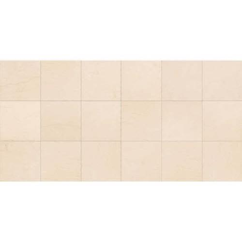 Limestone in Adour Creme   18x18 Polished - Tile by Daltile
