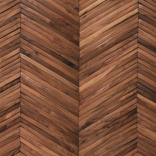 Inceptiv  Ark Chevron in American Walnut - Hardwood by DuChateau
