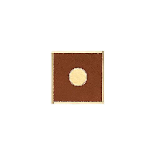 Veranda Solids in Deco G Corner 3x3 - Tile by Daltile