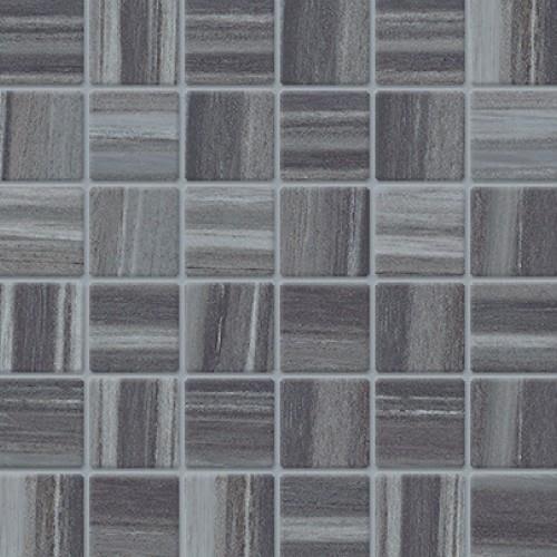 Krea in Black Mosaic - Tile by Happy Floors