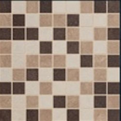Vega in Mosaic MIX 1   Sand, Bone, Tobacco - Tile by Happy Floors