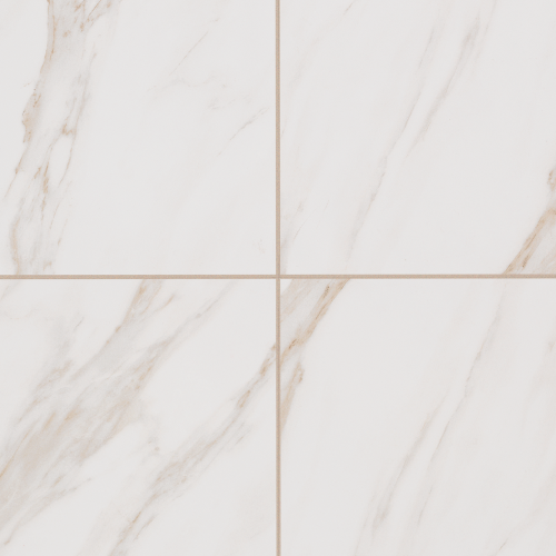 Basinos Floor in Bianco Cararra - Tile by Mohawk Flooring