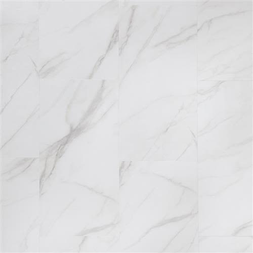 Adura Flex Tile in Legacy White With Gray - Vinyl by Mannington