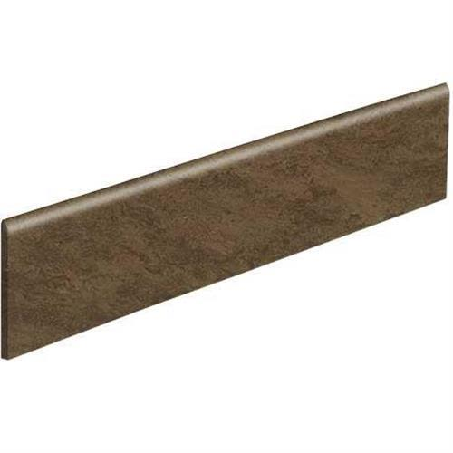 Classentino Marble in Imperial Brown Matte Bullnose   3x24 - Tile by Marazzi