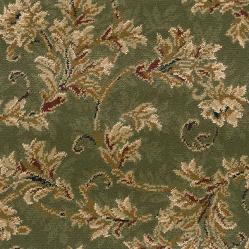 Scroll in Basil - Carpet by Stanton