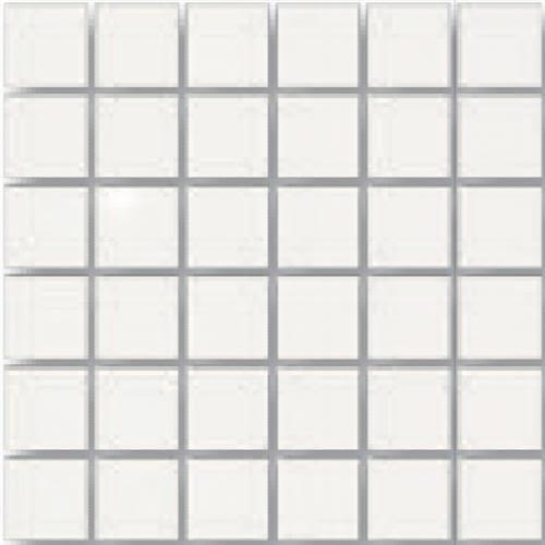 Neutra Super White in Super White   Mosaic - Tile by Tesoro