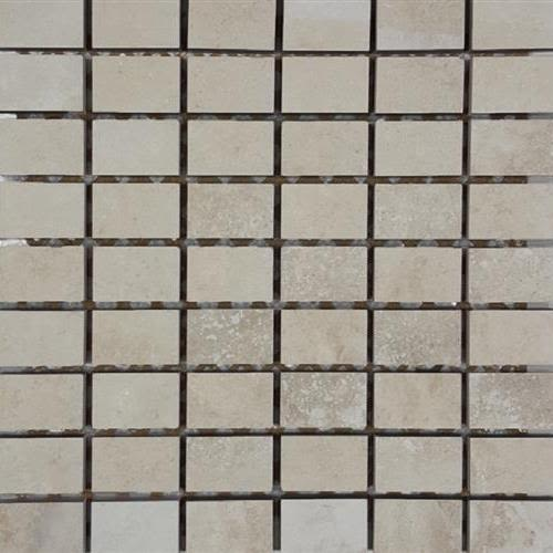 Progress Mosaics in Beige Stacked #5 Mosaic - Tile by Tesoro