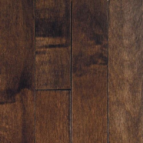 "Swatch for Cappuccino Maple 3"" flooring product"