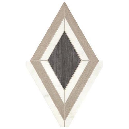 Castellina in Diamond White And Midnight Gray   19x12 - Tile by Marazzi