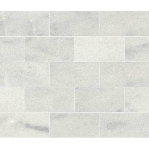 Parksville Stone in Yukon White Marble   12x12 Polished - Tile by Daltile