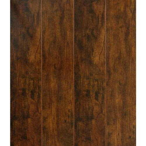 12.3 MM Handscraped Laminate in Bronze - Laminate by Nuvelle