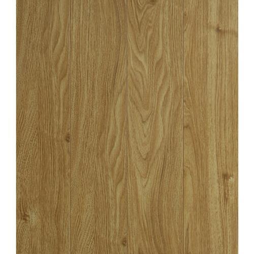 12.3 MM Handscraped Laminate in Honey Oak - Laminate by Nuvelle