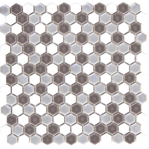 Swatch for Freddo Hexagon Mosaic flooring product