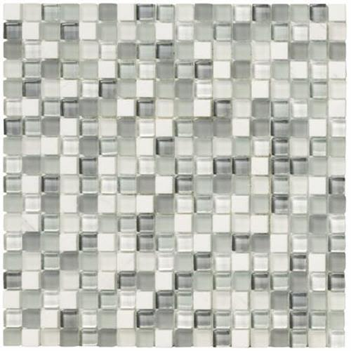Swatch for Pearl Mosaic Square   12x12 flooring product