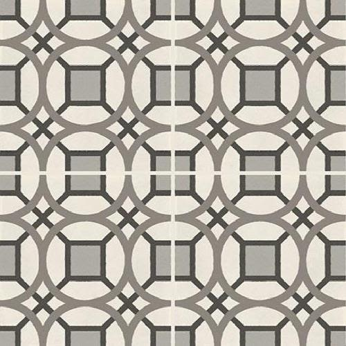D Segni in Kaleido  Chalk, Mud, Midnight, Sand, Smoke Blend - Tile by Marazzi